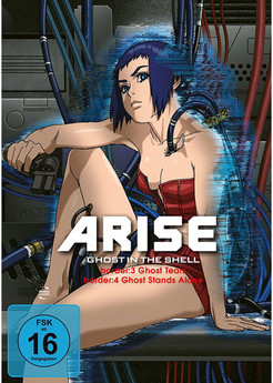 Ghost in the Shell – ARISE: border: 3+4 DVD