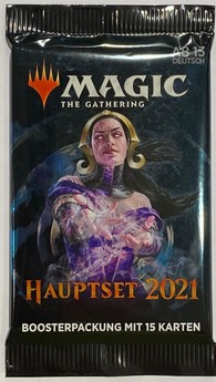 Magic The Gathering: Hauptset 2021 - Booster - DE