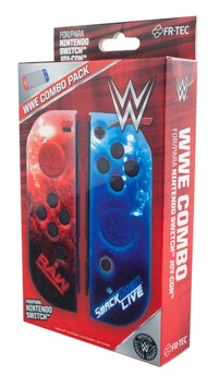 Joy-Con Hardcover + Grips WWE