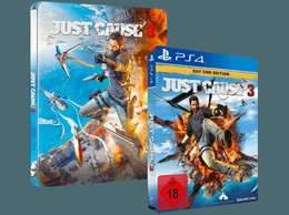 Just Cause 3 Day One Edition Steelbook