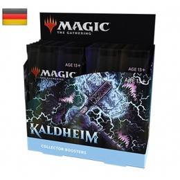 Magic Kaldheim Collector Booster Display (12 Packs) - DE