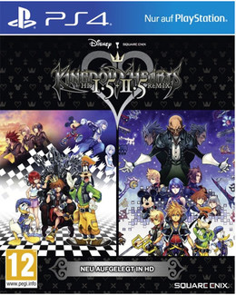 Kingdom Hearts HD 1.5 & 2.5 Remix PS-4 U K