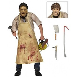 Texas Chainsaw Massacre 40th Anniversary Action Figur - Leatherface (18cm)