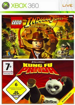 Lego Indiana Jones + Kung Fu Panda BV