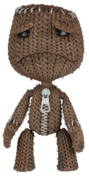 Little Big Planet Figur - Trauriger Sack Boy