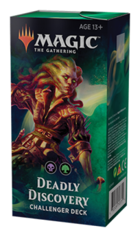 Magic The Gathering: Challenger Deck 2019 - Deadly Discovery - ENGLISCH