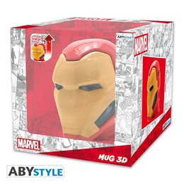 Marvel 3D Heat Change Tasse - Iron Man