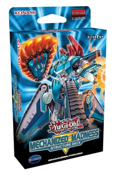 Yu-Gi-Oh! Structure Deck - Mechanized Madness - DE
