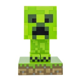 Minecraft 3D Lampe - Creeper