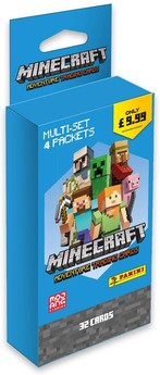 Minecraft Trading Cards Eco-Blister