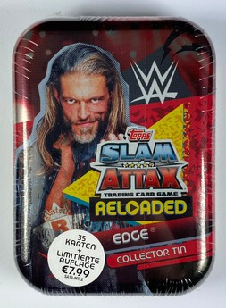 WWE Slam Attax Reloaded - Collector Tin: Edge