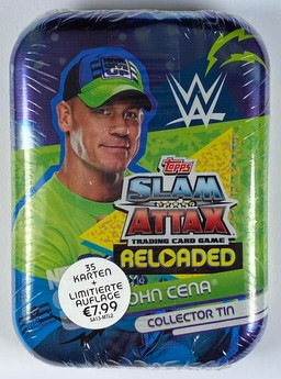 WWE Slam Attax Reloaded - Collector Tin: John Cena
