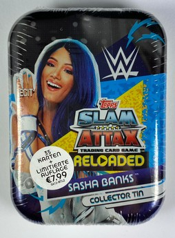 WWE Slam Attax Reloaded - Collector Tin: Sasha Banks