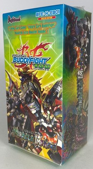Future Card Buddyfight Hundred: Miracle Impack! - Display - ENGLISCH