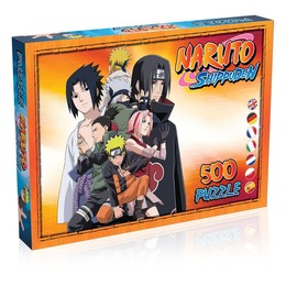 Naruto Shippuden Puzzle - Charaktere (500 Teile)