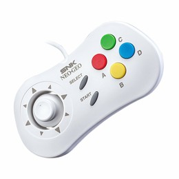 NEOGEO mini Wired Pad (White / Weiß)