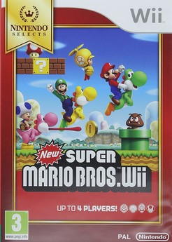 New Super Mario Bros. Wii SELECTS UK-Import