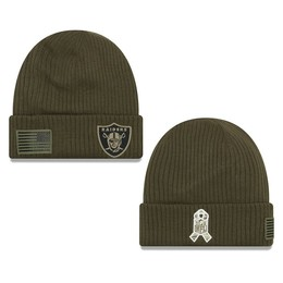 NFL Oakland Raiders - Salute to Service Wollmütze