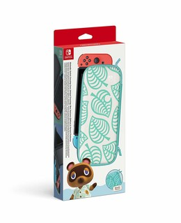 Nintendo Switch Schutzhülle - Animal Crossing: New Horizon-Edition (inkl. Schutzfolie)
