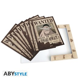 One Piece Poster Paket - 9 x Wanted Poster