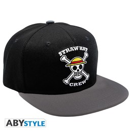 One Piece Snapback Cap - Straw Hat Crew SKull