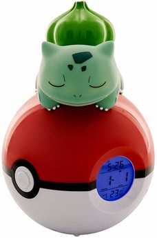 Pokemon -  LED Bulbasaur Radio wecker