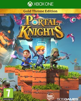 Portal Knights Gold Throne Edition