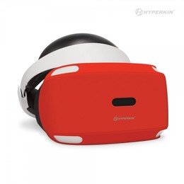 PS VR Gelshell Headset Silikon-Hülle Rot