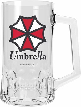 Resident Evil Bierkrug - Umbrella Logo 500ml