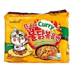 Samyang Hot Chicken Ramen Curry 5x140g