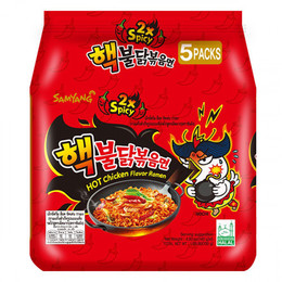 Samyang Extreme Hot Chicken Ramen  5x140g