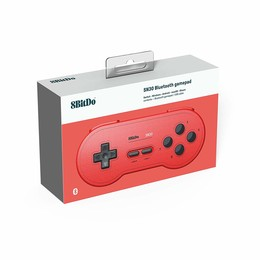 SN30 Bluetooth Gamepad Red Edition