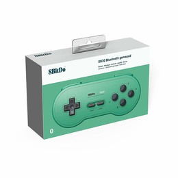 SN30 Wireless Gamepad (Green Edition)