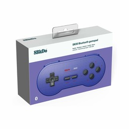 SN30 Wireless Gamepad (Purple Edition)