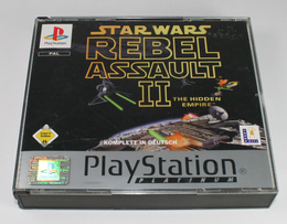 Star Wars: Rebel Assault II - The Hidden Empire Platinum
