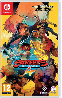 Streets of Rage 4  UK-Import