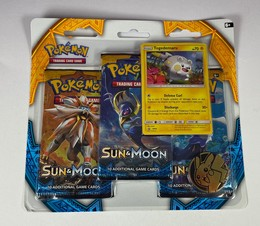 Pokémon Sun & Moon - 3-Pack-Blister: Togedemaru - ENGLISCH