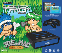 Retro-Bit Super Retro Trio Plus Joe & Mac Edition (NES/SNES/Mega Drive)