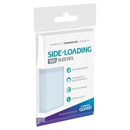 Side-Loading Precise-Fit Sleeves (100 Stk.) - Standard Größe - Transparent