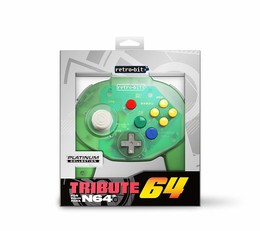 Tribute Controller für Nintendo 64 - Forest Green