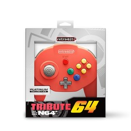 Tribute Controller für Nintendo 64 - Red