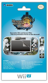 Wii U / Wii Gamepad Skin - Monster Hunter 3 Ultimate