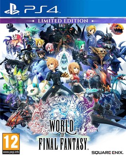 World of Final Fantasy Limited Edition PEGI