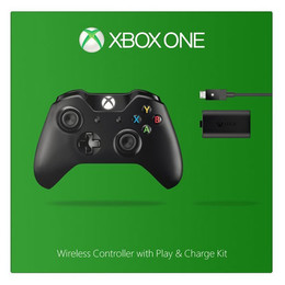 Xbox One Wireless Controller + Play & Charge-Kit
