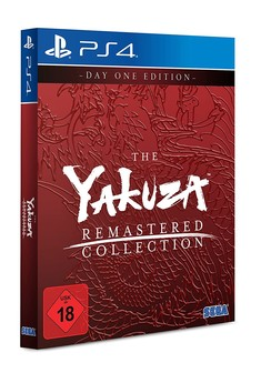 Yakuza Remastered Collection D1 Yakuza 3 + 4 + 5