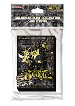 Yu-Gi-Oh! Sleeves (50 Stk) - Golden Duelist Collection