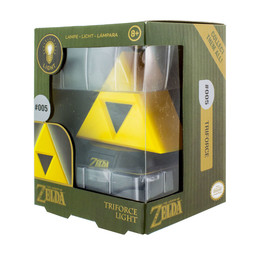 The Legend of Zelda 3D Lampe - Triforce