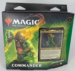 Magic The Gathering: Zendikars Erneuerung - Commander Deck: Zorn des Landes - DE