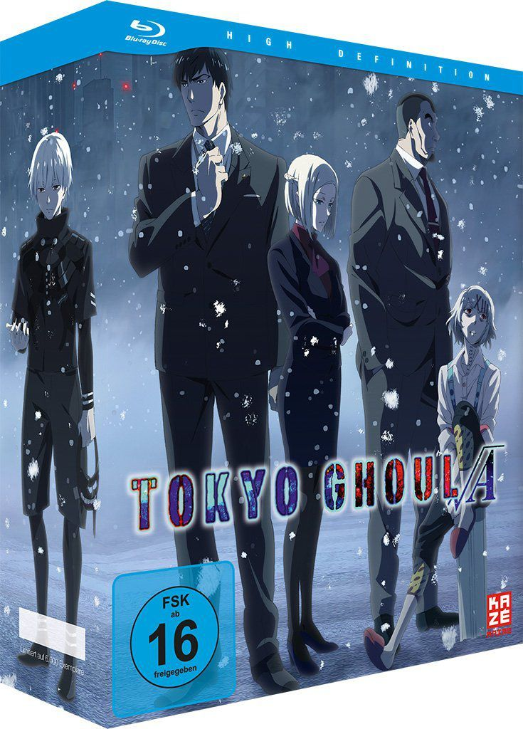 Tokyo Ghoul Staffeln